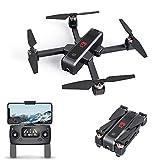 EACHINE EX3 Drone avec Caméra 2k HD GPS 5G-WiFi Non-brossé Brushless Moteur l'écran OLED Drone Pliable FPV Quadcopter 3400mAh Batterie Inclus