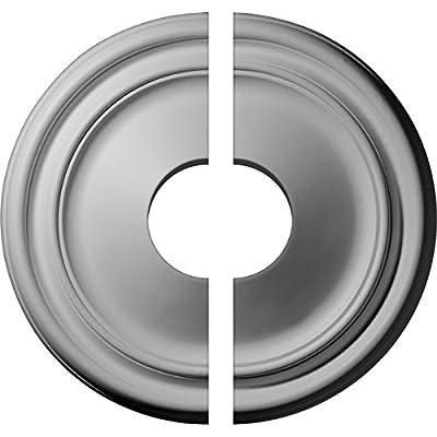 Ekena Millwork 12-Inch OD x 1 3/4-Inch Reece Ceiling Medallion