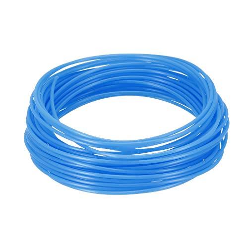 uxcell 3D Pen Filament Refills,32.5Ft,1.75mm PLA 3D Printer Refills,Dimensional Accuracy +/- 0.02mm,Fluorescent Blue