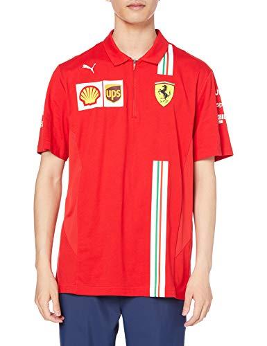 PUMA Manner Scuderia Ferrari Herren Poloshirt Polo-Shirt, Rosso Corsa, M