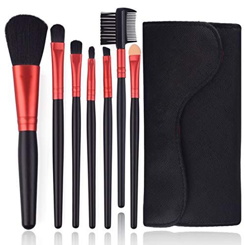 HU Brosse de Maquillage, des Outils Professionnels de Lip Correcteur synthétique de Haute qualité (7 Pcs)
