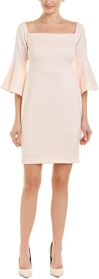 Betsey Johnson Women's Off The Shoulder Bell Sleeve Dress