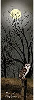 Barn Owl Poster Print by Billy Jacobs (6 x 18)