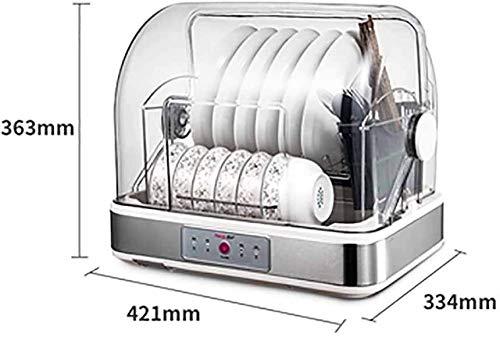 Bagage Mini Sterilisator Drogen, Household tafelblad desinfectie kabinet Mini UV keuken op Tafelgerei Eetstokjes Cleaning kabinet Electronic Dish Dryer Ultraviolet, 28L Cosmetische opbergdoos (Maat: 4