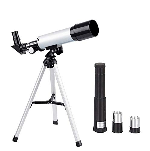 Telescope for Kids,Anipro Educational Toy for Beginners Science Tools with Tripod and 3 Magnification Eyepieces 360/50mm Spotting Scope
