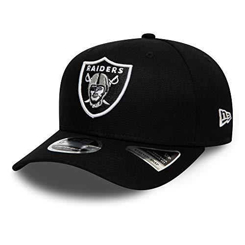 New Era Oakland Raiders 9fifty Stretch Snap Cap NFL Team Stretch Black - S-M