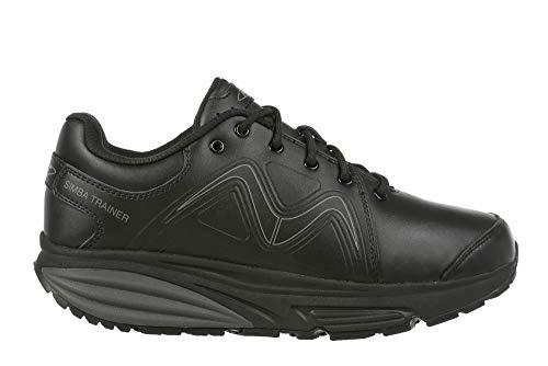MBT 700860 Simba Trainer M Hombre Zapatos de Cordones,de Caballero Zapato Equilibrio,Suela...