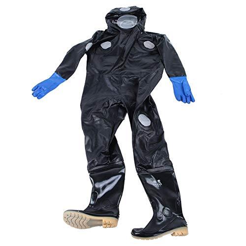 Jeffergarden bijenkleding, uniform, imkerkleding, tegen bijen, met laarzen, beschermende handschoenen, bril