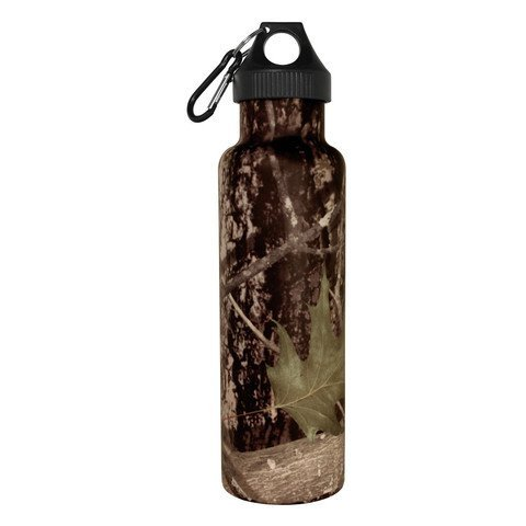 Camo 21 Oz Camouflage Ultimate Sport Bottles Personal Hydration Best Insulated Water Bottle NO Leak or Sweat Stainless Cold 24 Hrs Hot 12 Hrs Perfect Fitness Outdoor Hiking Hunting Fishing Paintball