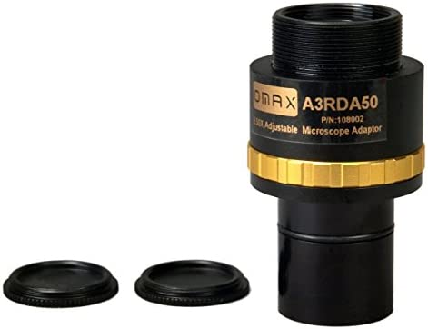 OMAX 0 5X Adjustable Reduction Lens for Microscope Camera product image