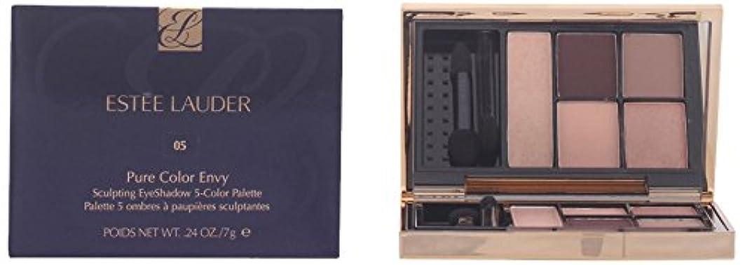 社交的そしてエスティローダー ピュア カラー エンヴィ アイシャドウ ファイブ カラー パレット - 05 ファイアリ サフラン 7g/0.24oz並行輸入品