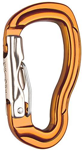Grivel K12l Tau Wire Lock Orange, Einzelkarabiner, Größe One Size - Farbe Copper Gold