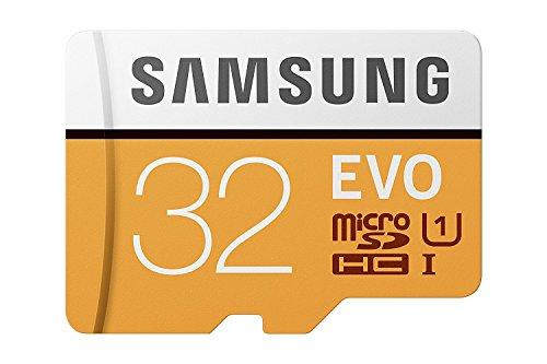 Samsung MicroSDXC Evo-Speicherkarte 32 gb Orange/Weiß