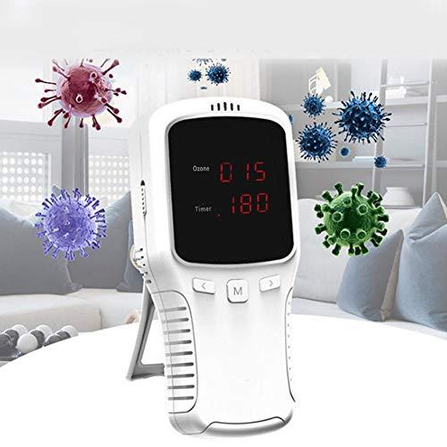 wosume 【𝐕𝐞𝐧𝐭𝐚 𝐑𝐞𝐠𝐚𝐥𝐨 𝐏𝐫𝐢𝐦𝐚𝒗𝐞𝐫𝐚】 Generador de ozono, purificador de Aire portátil generador de ozono para el hogar Desodorante máquina ionizadora para Coche de Hotel