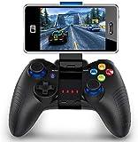 Mobiler Gamecontroller, PowerLead PG8710 Gaming Controller,Wireless Gamepad Hervorragend geeignet für PUBG & More. Unterstützt iOS Android iPhone iPad Samsung Galaxy