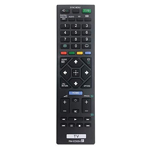 MYHGRC Neue Fernbedienung RM-ED054 Für Fernbedienung Sony bravia Smart TV Ersatz LCD LED TV KDL-32R420A KDL-40R470A KDL-46R470A KDL-40R474A KDL-40R470A KLV-32R412B Keine Einrichtung erforderlich