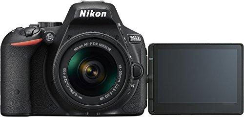 Nikon D5500 SLR-Digitalkamera Kit DX AF-P 18-55 VR schwarz