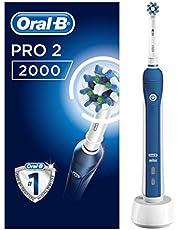 Oral-B Pro 2000 Şarj Edilebilir Diş Fırçası Cross Action