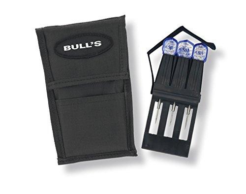 BULL'S UNO Pack Darttasche, Schwarz, 17 cm x 11 cm x 2 cm