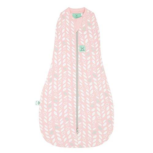 ergoPouch Cocoon, Sommerschlafsack Baby, Pucksack Baby, Schlafsack, Sommer - Tog 1.0 - Pink - 3-12 Monate
