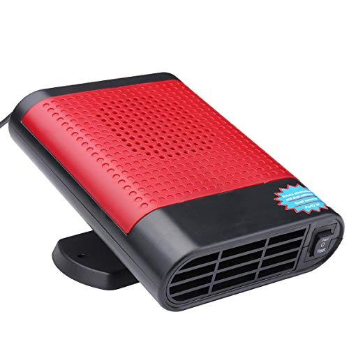 YANGYUAN 12V 150W calefacción del Coche más Fresco Antivaho descongelador 2 en 1 Caliente Ventilador Van (Color : Internal)