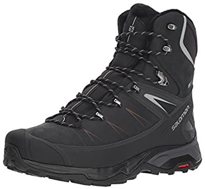 Salomon Men's X Ultra Winter CSWP 2 Winter Snow Boots, Black/PHANTOM/Monument, 11.5