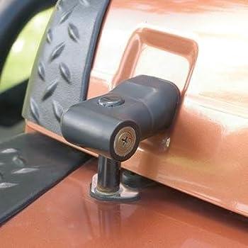 Black Aluminum Locking Hood Lock Latch Catch For Jeep Wrangler TJ 1997-2006 L/&R