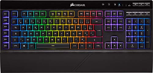 Corsair K57 RGB Draadloos Gaming Toetsenbord met Slipstream Draadloze Technologie, RGB LED Backlight, Zwart