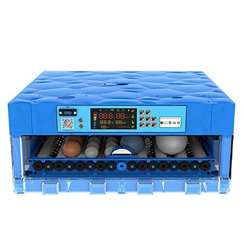 ZCXBHD Incubadora de Huevos 64 Digital Huevos Hatcher Automático Torneado Temperatura Humedad Controlar Eclosión Pollo Pato Paloma Codorniz