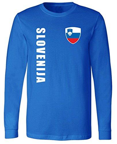 aprom Slowenien Langarm T-Shirt Trikot LS-Spa Royal Longsleeve (2XL)