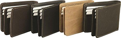 Fuente Leather Wears  WLT005-006RN, Portafogli  Donna, nero (Nero) - WLT006