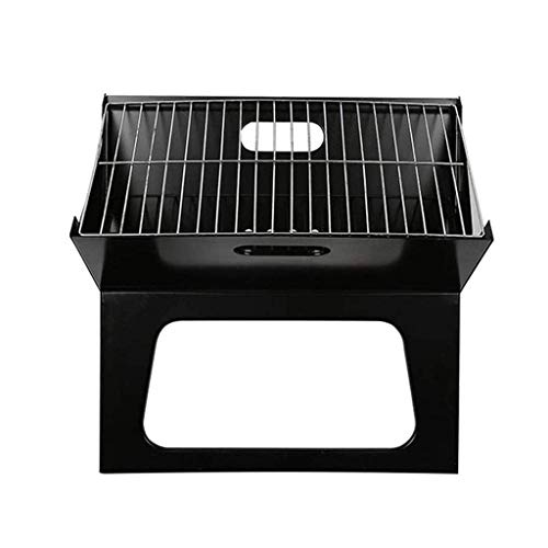 DDL Folding Charcoal Grill, Portable Grill Durable Thickened Mini Barbecue Grill Household Oven