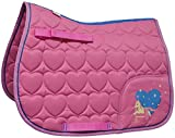 Little Rider Enfants/Enfants Petit Spectacle Poney Selle Tapis - Cameo Rose/Regatta Bleu, Pony/Cob
