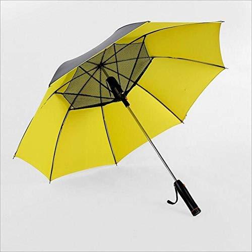 Regenschirm Mit Ventilator Anti-Uv-Sonnenlicht Und Regenzeit Langen Griff Sommer Im Freien