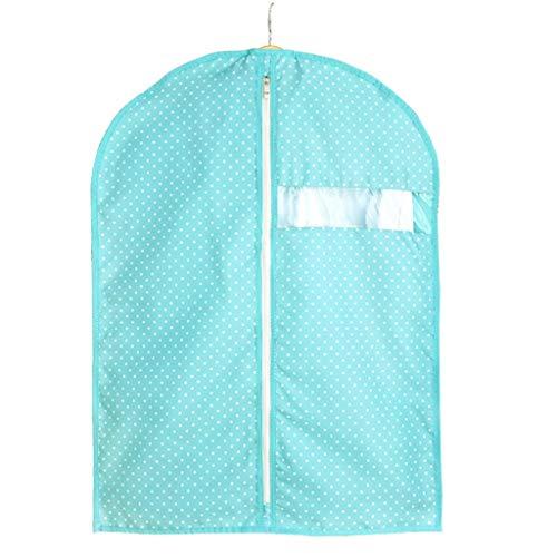 YHWLKK ademende zakken voor opslag en reizen met transparant venster en ID-kaart voor pak, jas, rokken, overhemd en wapen