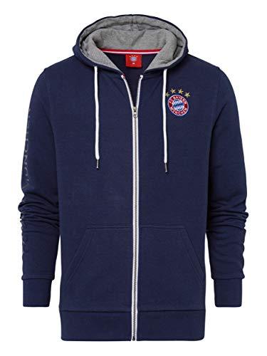 FC Bayern München Kapuzenjacke Classic Navy, XL