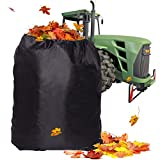 TONIAN Leaf Bag for Ride-On Lawnmowers, Durable 54 Cubic - 120-inch Opening Garden Lawn Mower Leaf...