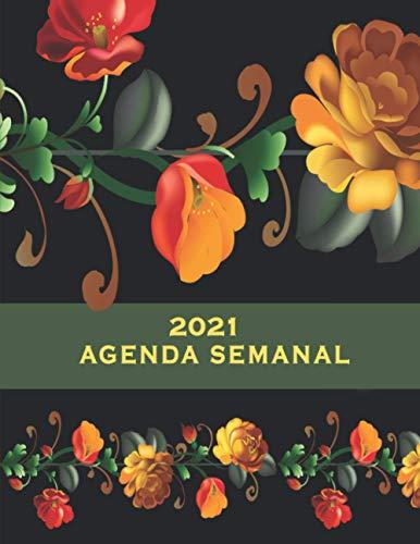 Agenda Semanal 2021: 2021 Planificador Semanal, Planificador...