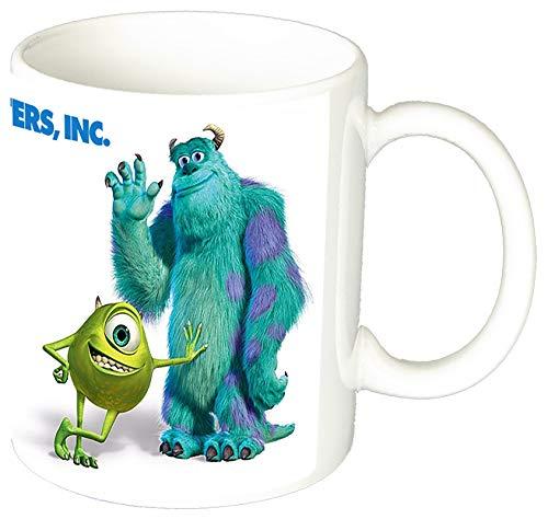 Monstruos S.A. Monsters Inc Mike Wazowski & Sulley Taza Ceramica