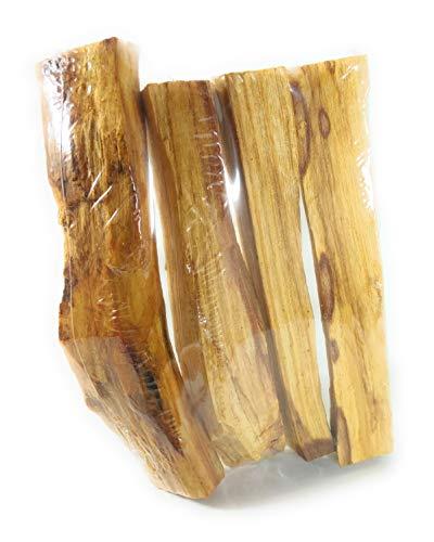 Palo Santo, 50-55 g - Madera Sagrada - 100% Natural y sostenible - Equilibra y Limpia Las energías. Protección y purificación Espiritual. Corte Artesanal