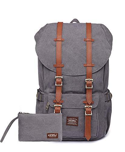 KAUKKO Rucksack Damen Herren Daypack für 15
