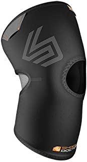 Shock Doctor Knee Brace Compression Sleeve Support (1 Unit). Helps Pain / Healing from Arthritis,  Bursitis,  Tendonitis,  Meniscus Tear,  Patella Alignment and more. For Basketball,  Football,  Running and most Sports. Increases Blood Flow. Knee Wrap for