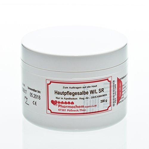 Original Hautpflegesalbe W/L SR I Allround-Pflege-Creme I geeignet für gesunde,trockene und rissige Haut I ohne Wollwachsalkohole, ohne Duft-Stoffe und ohne Parfüm I 200 g
