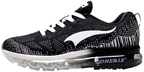 ONEMIX Air Laufschuhe Herren Damen Sportschuhe Straßenlaufschuhe Turnschuhe Walkingschuhe Sneaker 1118 HB 43