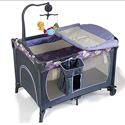 Buy Bargain ETERLY Crib Multifunction Folding Travel Crib Child Portable Bedside Bed Child Bed Fence...