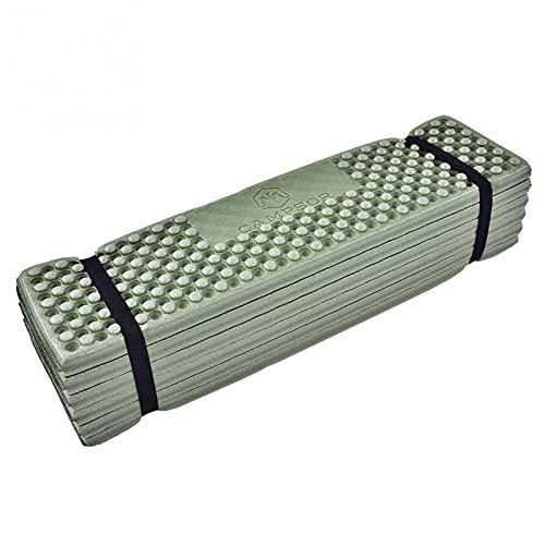 190 * 56 centímetros Asiento ultraligero Colchonetas Colchonetas de espuma plegable picnic en la playa Carpa Felpudo Saco de dormir impermeable al aire libre del cojín felpudo Braid ( Colore : Green )