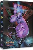 Funmo Classeur pour Cartes Pokemon, Pokémon Carte Album, Pokemon Cartes à Collectionner Album, Livre Protection pour...