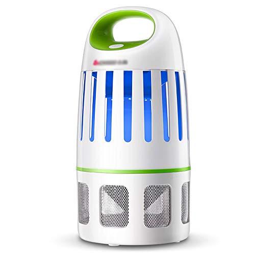 Elektronischer Moskito-Mörder-nicht chemischer USB-angetriebener Insektenfänger Smart Light Control LED-Fotokatalysator Strahlungsfreie Moskito-Falle mit UV-Licht-Saugventilator für Innen- und Auße