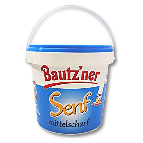 Bautzner Senf mittelscharf im Eimer 1000 ml Bautzner Spezialität, Senfeimer