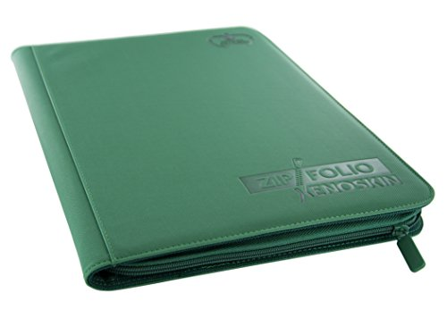 Ultimate Guard 9 Pocket XenoSkin Zipfolio, Green image